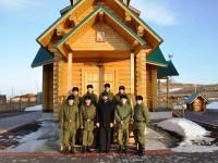 Настоятель храма Командорских островов встретился с военнослужащими
