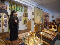 Третья часть Великого покаянного канона прочитана в женском епархиальном монастыре в честь Казанской иконы Божией матери
