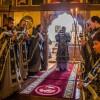 В среду первой седмицы Великого поста епископ Артемий совершил Литургию Преждеосвященных Даров