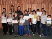 Волонтеры епархиального Социального Отдела, совместно с иеромонахом Софронием, посетили Детский дом №2