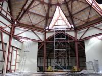 Новости со строительной площадки Троицкого храма г.Елизово