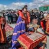 Его Преосвященство епископ Петропавловский и Камчатский Артемий заложил камень в основание храма в р-не Северо-Восток г.Петропавловска-Камчатского