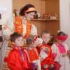 Ученики воскресной школы мужского монастыря посетили Детский дом №3