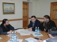 Заседание рабочей группы по благоустройству территории соборного комплекса