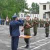 Торжественное принятие военной присяги