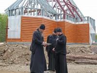 Епископ Артемий проинспектировал строящиеся в рамках «Программы-20» храмы г. Петропавловска-Камчатского