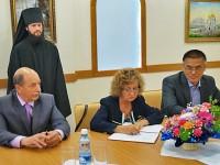 Подписание соглашения о сотрудничестве между Епархией и Палатой Уполномоченных в Камчатском крае