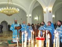 Епископ Артемий возглавил торжественный «Параклисис»