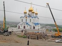 Залит фундамент соборной колокольни