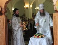 В Праздник Преображения Господня Епископ Петропавловский и Камчатский Артемий совершил праздничную Божественную литургию