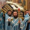 Епископ Артемий совершил чин погребения Святой Плащаницы Пресвятой Богородицы