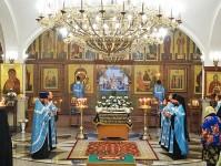 Служение Епископа Артемия в праздник Успения Божией Матери