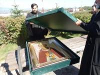 Закончилось пребывание чудотворного образа прп. Сергия Радонежского на Камчатской земле