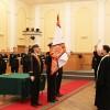 Иерей Максим Дентовский совершил чин освящения воинского знамени