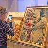 Выставка картин преподобного Сергия Радонежского: о маме, яблоке и конфетах