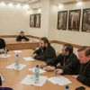 В епархиальном управлении состоялось собрание благочинных