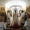 В неделю по Рождестве Христовом Епископ Артемий совершил литургию в епархиальном мужском монастыре