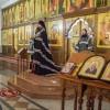 В последнее Воскресение перед Великим Постом епископ Артемий совершил вечернюю с чином прощения