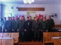 Благочинный Усть-Камчатского округа провел встречу с пограничниками