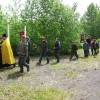Начало военно-патриотического лагеря «Пересвет»