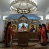 Престольный праздник в епархиальном Свято-Пантелеимоновом мужском монастыре