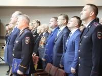 Представитель Епархии поздравил сотрудников органов внутренних дел  с профессиональным праздником