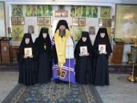 Иноческий постриг в женском  монастыре