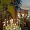Престольный праздник храма в честь свт. Николая Чудотворца в Епархиальном Духовно-просветительском центре