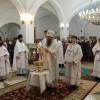 В дни Крещенских праздников епископ Артемий совершил праздничные богослужения в Кафедральном соборе св. Живоначальной Троицы
