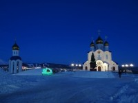 Рождественское Богослужение в Кафедральном соборе г.Петропавловска-Камчатского