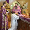 В неделю Торжества Православия архиепископ Артемий совершил литургию в Кафедральном соборе и рукоположил в сан диакона Сергея Пустенького