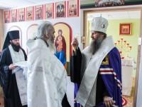 Освящение храма в честь Всемилостивого Спаса в краевом Наркологическом диспансере