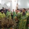В праздник Входа Господня в Иерусалим Архиепископ Артемий вручил богослужебно-иерархические награды клирикам епархии