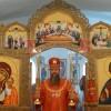 В неделю вторую по Пасхе архиепископ Артемий совершил литургию в Свято-Пантелеимоновом мужском монастыре