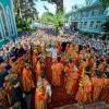 Архиепископ Артемий принял участие в торжествах, по случаю 70-летия возвращения Никольского собора г. Алматы РПЦ