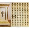 Мощевик с частицами мощей  90 угодников Божиих будет представлен в Кафедральном соборе