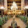 Архиепископ Петропавловский и Камчатский Артемий сослужил Святейшему Патриарху Кириллу за Божественной литургией в Троице-Сергиевой лавре