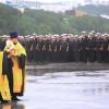 Военнослужащие подводных сил ТОФ поклонились мощам св. прав. воина Федора Ушакова
