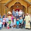 Молебен перед началом нового учебного года на приходе в п. Паратунка.