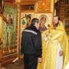 Праздничное богослужение в храме прав. Алексия, человека Божия на ИК-6