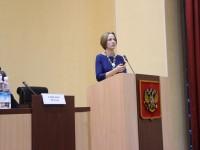 Выступление Ю.С. Васечко во время рождественских Парламенстких встреч в Законодательном собрании Камчатского края
