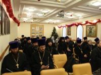 Годовое епархиальное собрание духовенства 2016г