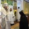 Архиепископ Артемий совершил воскресную литургию в епархиальном женском монастыре