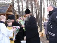 Освящение храма свт. Иннокентия пос. Козыревск