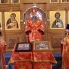 Архиеп. Артемий совершил литургию в храме пос. Паратунка и посетил Паратунский дом-интернат