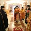 Архиепископ Артемий совершил литургию в Свято-Пантелеимоновом мужском монастыре