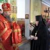 В среду Светлой седмицы архиепископ Артемий совершил Божественную литургию в епархиальном женском монастыре
