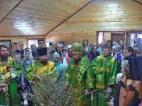 В праздник Входа Господня в Иерусалим епископ Феодор совершил освящение временного храма свт. Луки архиеп. Крымского