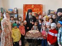 В день Антипасхи Архиепископ Артемий совершил литургию в храме Духовно-просветительского центра