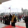 Торжественное открытие новой пограничной заставы в посёлке Октябрьский